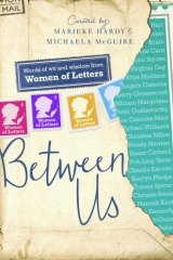 All is revealed: Women of Letters cover.