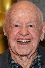 Dead at 93: Mickey Rooney.