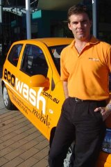 Former racing driver Jim Cornish founded Ecowash, which is now known as Nanotek.