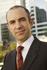 Big business: Justin Di Lollo, managing director of Hawker Britton.