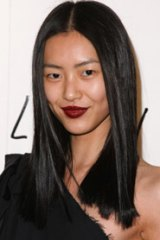 Chinese model Lui Wen, the first Asian face appointed by Estee Lauder.