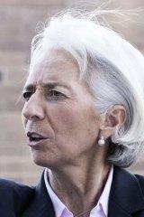 All eyes on: IMF head Christine Lagarde.