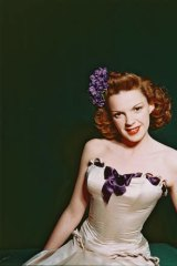 Somewhere: Judy Garland, pictured in 1945.