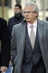 Famous Spanish human rights investigator Baltasar Garzon.