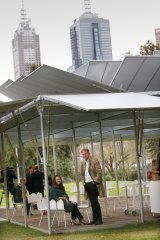 The first MPavilion was constructed in 2014.