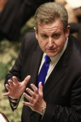 """There is no point putting up legislation which does not have widespread support"" ... Premier Barry O'Farrell."