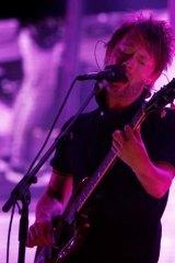 Vocal critic: Radiohead's Thom Yorke.