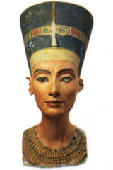 The Nefertiti bust.