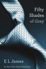 EL James's best-seller, Fifty Shades of Grey.