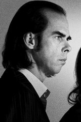 Nick Cave . . . beat other musicians to be voted preferred prime minister.