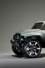A stylised jeep, part of <i>Industrial Desire: Detroit Concept Cars</i>.