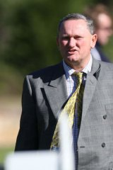 In the thick of it: Stephen Dank.