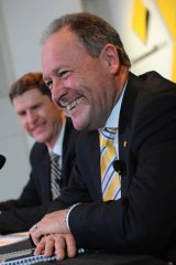 Outgoing Commonwealth Bank CEO Ralph Norris.