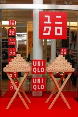 Uniqlo's flagship store in New York City.