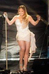 The real deal: Mariah Carey.