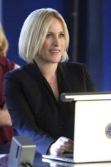 Cyber cop: Patricia Arquette joins the CSI team as Special Agent Avery Ryan.