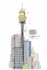 Sydney Tower by James Gulliver Hancock.