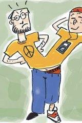 Do Generation Y lack the political fire of their parents' generation? <em>Illustration: SImon Bosch</em>