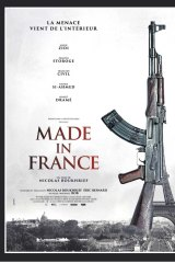 A poster for the film, <i>Made In France</i>.