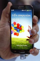 Hands on: The Samsung Galaxy S4.