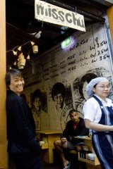 Nahji Chu at one of her misschu outlets.
