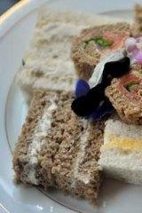 Ribbon sandwiches.
