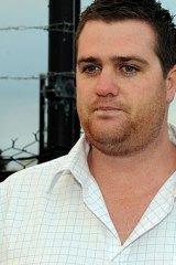 Not happy ... 1st Fleet customer Matt Jennings.