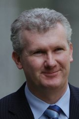 In hot water: Former federal environment minister Tony Burke is accused of breaching environmental laws when he approved the Maules Creek coalmine.