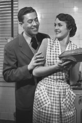The old 1950s-era black and white movies, featuring 'ideal working father' and 'ideal housewife mother', are still playing all over the world.