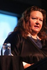 """""""Spend less time drinking or smoking and socialising, and more time working"""": Gina Rinehart."""