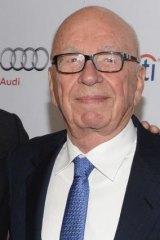 Rupert Murdoch can't help but bite back on Twitter.