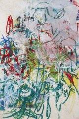 ''Explosive'' ... Aida Tomescu's <i>Hofstadt II</i> (2011).