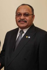 Prime Minister of Papua New Guinea Peter O'Neill.