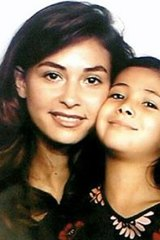 Mysterious death ... Candice Cohen-Ahnine with daughter Aya.