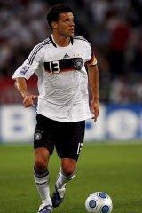 Michael Ballack of Germany.