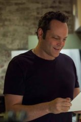 Fatherly advice: Vince Vaughn in <i>Delivery Man</i>.