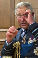 """Loony this and loony that"" . . . Charles on Sunday."