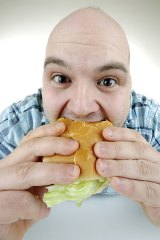 When eating fast food, people overindulge, the Obesity Policy Coalition claims.