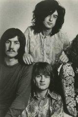 Led Zeppelin in 1969.