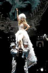 Jennifer Lopez performs at Rod Laver Arena.