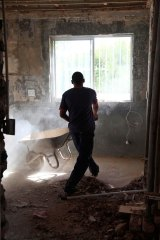 It's been estimated that as much as two-thirds of the asbestos installed in homes in the 1940s, '50s and '60s is now reaching the end of its lifetime.