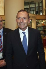 """Compromising comments: Tony Abbott referred to the Greens as """"economic fringe dwellers"""" during the election campaign."""