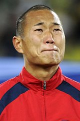 ''Finally, I had made the World Cup,'' said striker Jong Tae-Se of his tears before the match.