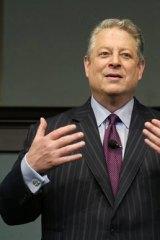 Al Gore is visiting Melbourne next week.