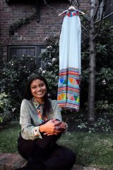 Roopa Pemmaraju has finally won recognition for her exquisite silk designs, which feature the work of Indian and indigenous artisans.