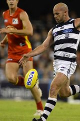 Geelong's Paul Chapman will be too physically robust for any Suns opponent.