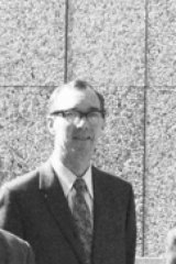 Recognition: Peter Spooner in 1971.
