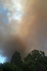 The Parkerville fire.