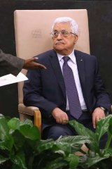 Palestinian President Mahmoud Abbas says new settlement plans spell the end of the Middle East peace process.