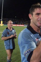 Brad Fittler shows what it means to win a series.